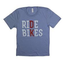 "DK Bikes DK ""Ride Bikes"" Tee M/Blue"