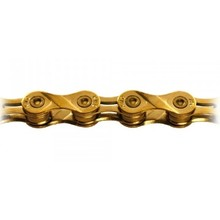 KMC INV KMC X9SL Chain: 9 Speed 116 Links Ti Nitride Gold