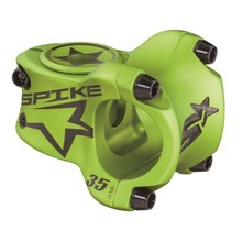 Spank INV Spike Race Stem 35mm Length, 31.8 Bar Clamp, Matte Green