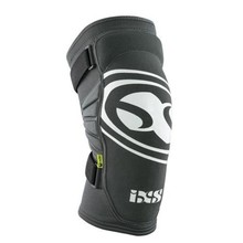 iXS INV iXS Carve EVO Knee Pad: Gray/Black, Kids LG