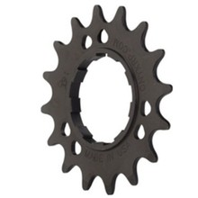 "ONYX Racing Products Aluminum Cog: 3/32"", 17t, Black"