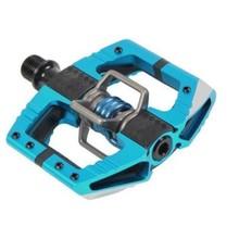 Crankbrothers Pedals - Mallet Enduro - Light Blue / Light Blue Spring