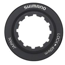 Shimano INV Shimano RT98 Centerlock Disc Rotor Lockring Black/Alloy