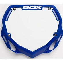 BOX BOX Two Number Plate Small Blue