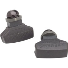 Odyssey Odyssey Ghost Brake Pads Black Normal Compound Threaded Post