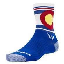 SWIFTWICK Swiftwick Vision Spirit Five Sock: Colorado LG