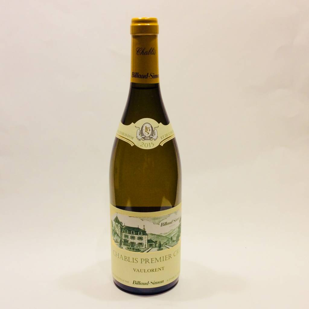 Domaine Billaud-Simon - Chablis Vaulorent 1er Cru 2015 (750 ml)