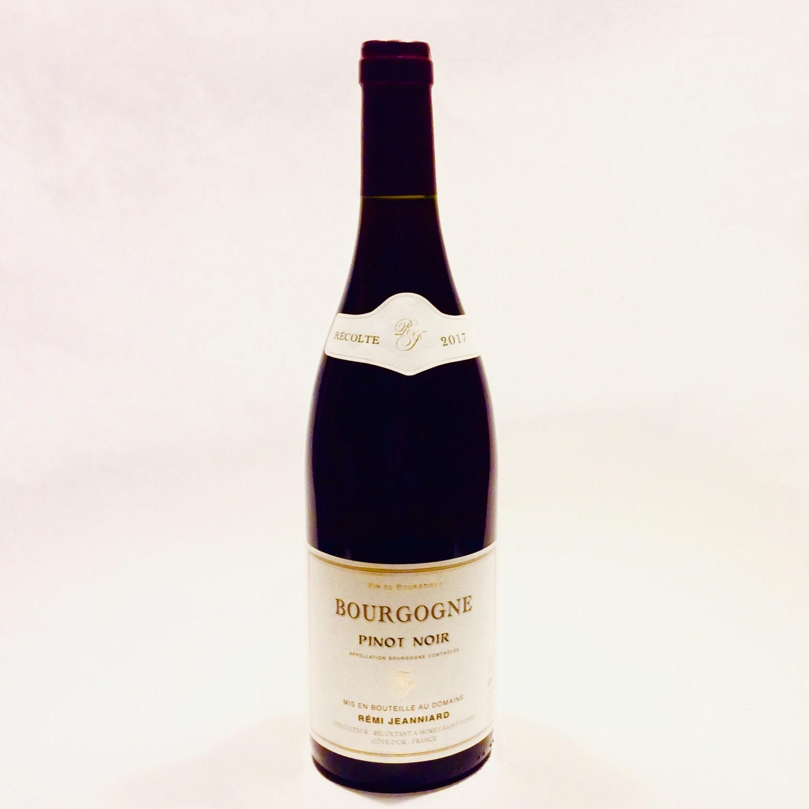 Remi Jeanniard - Bourgogne Pinot Noir 2017 (750 ml)