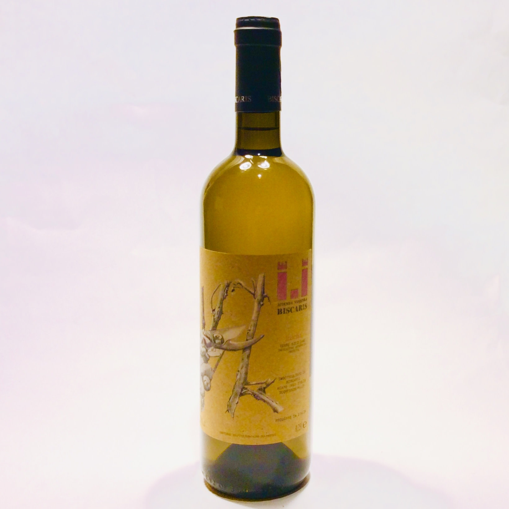 "Biscaris - Terre Siciliane ""Inzolia"" 2018 (750 ml)"