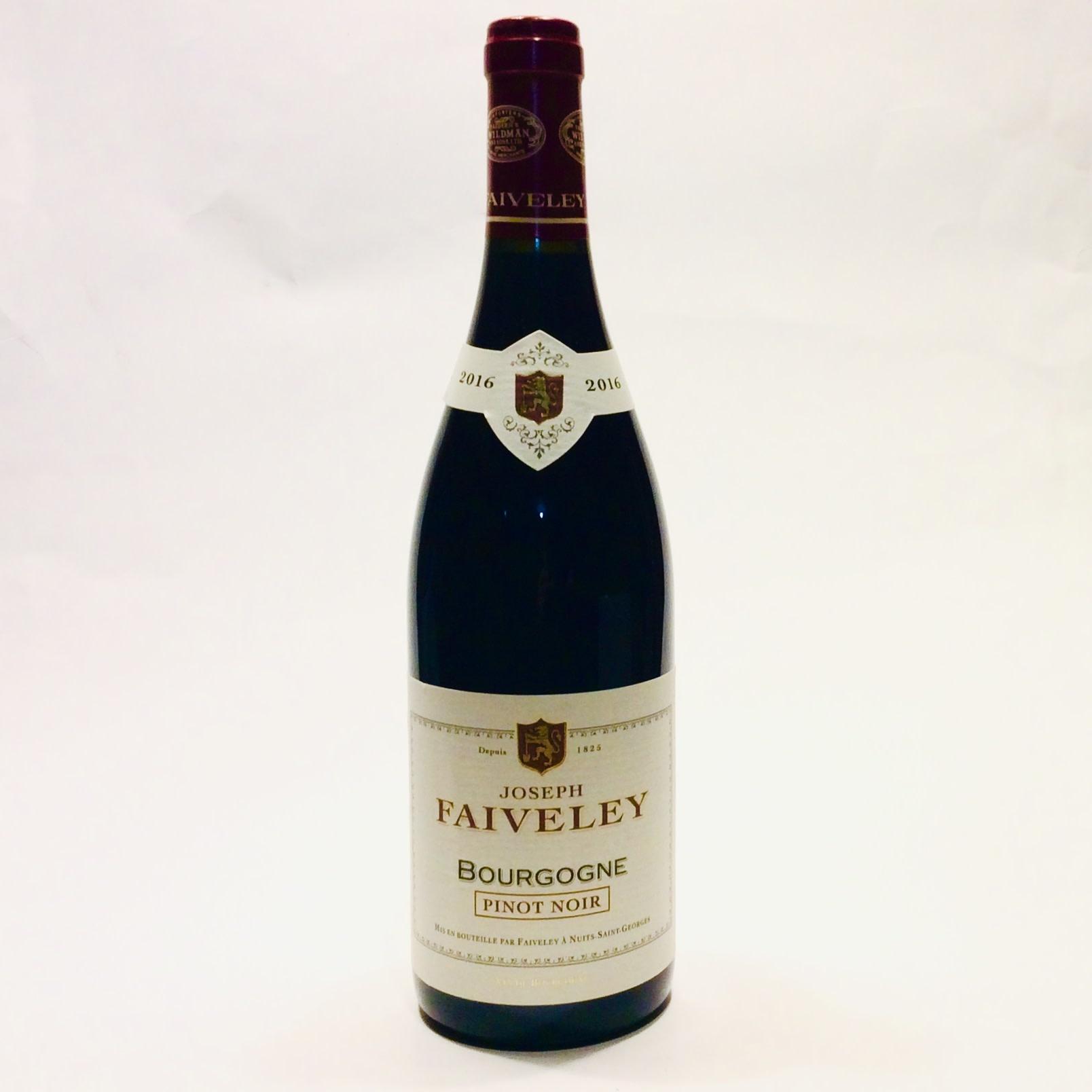 Faiveley - Bourgogne Pinot Noir - Rouge 2016 (750 ml)