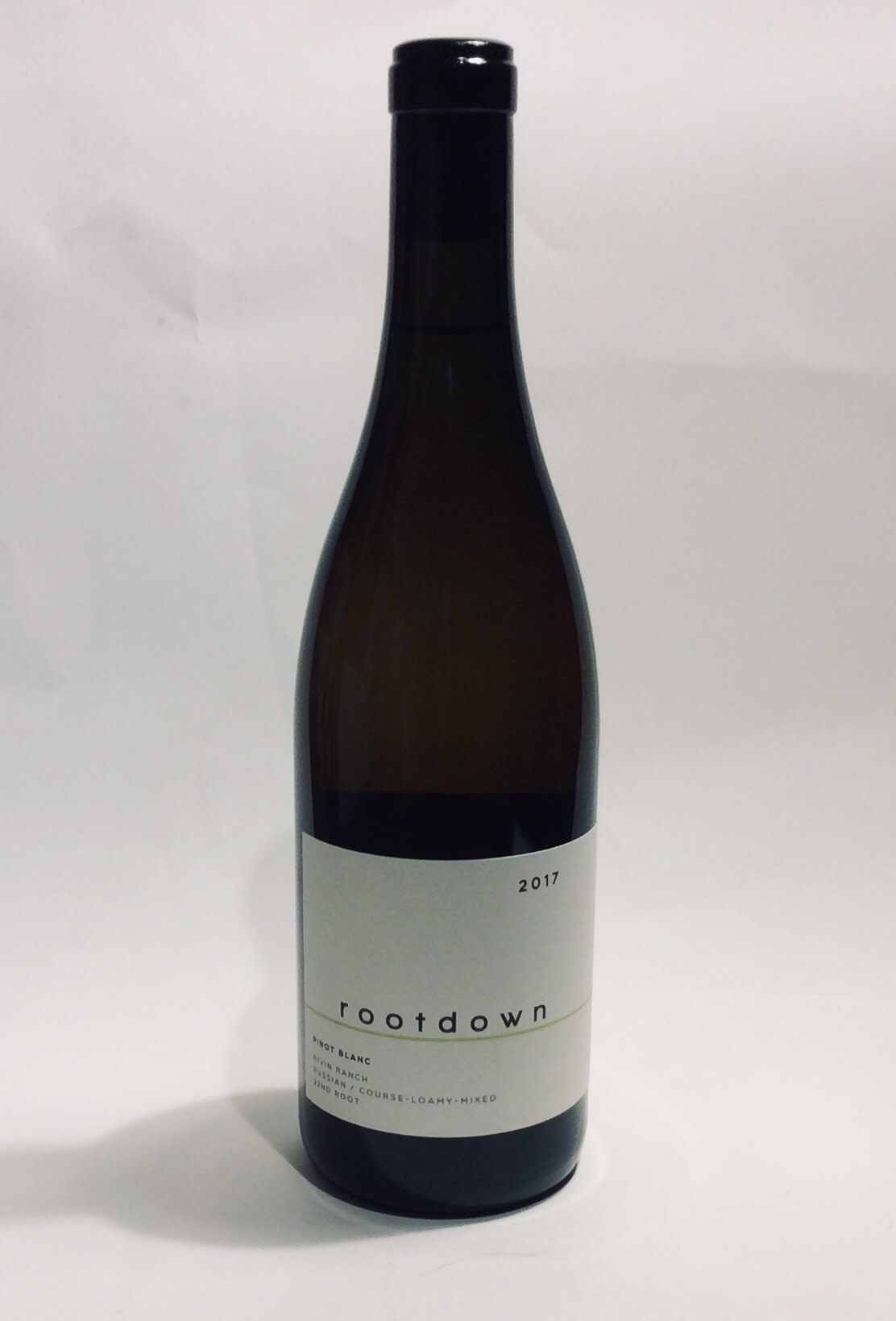 Rootdown - Pinot Blanc Rivin Ranch - Mendocino County 2017 (750 ml)