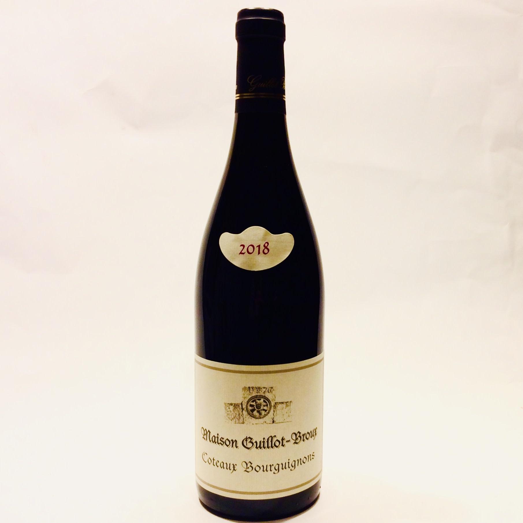 Guillot Broux - Coteaux Bourguignons 2018 (750 ml)