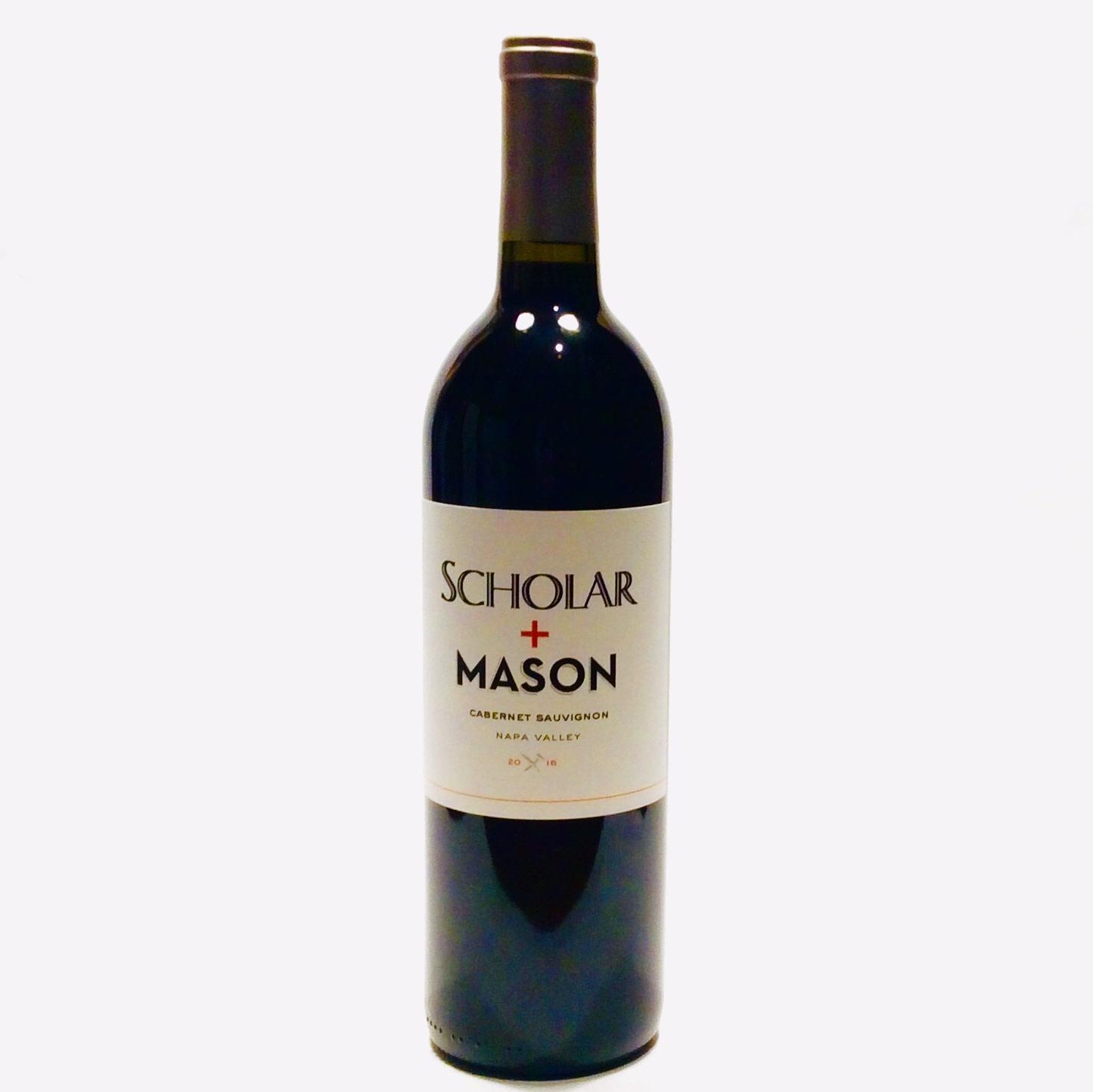 Scholar & Mason - Cabernet Sauvignon - Napa 2016 (750 ml)