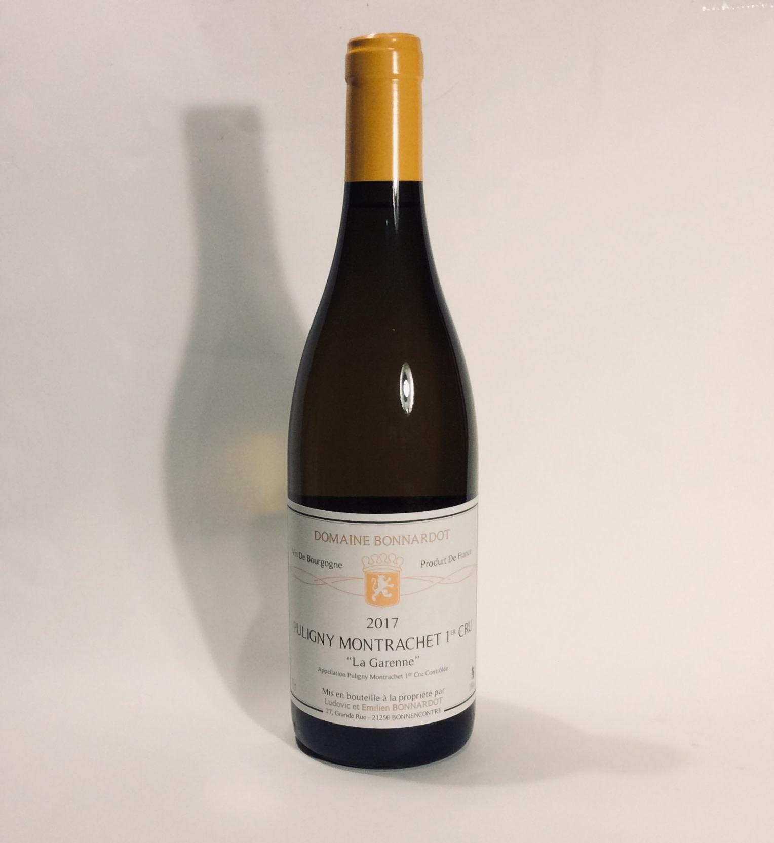 """Bonnardot - Puligny-Montrachet Primier Cru """"La Garenne"""" 2017 (750 ml)"""