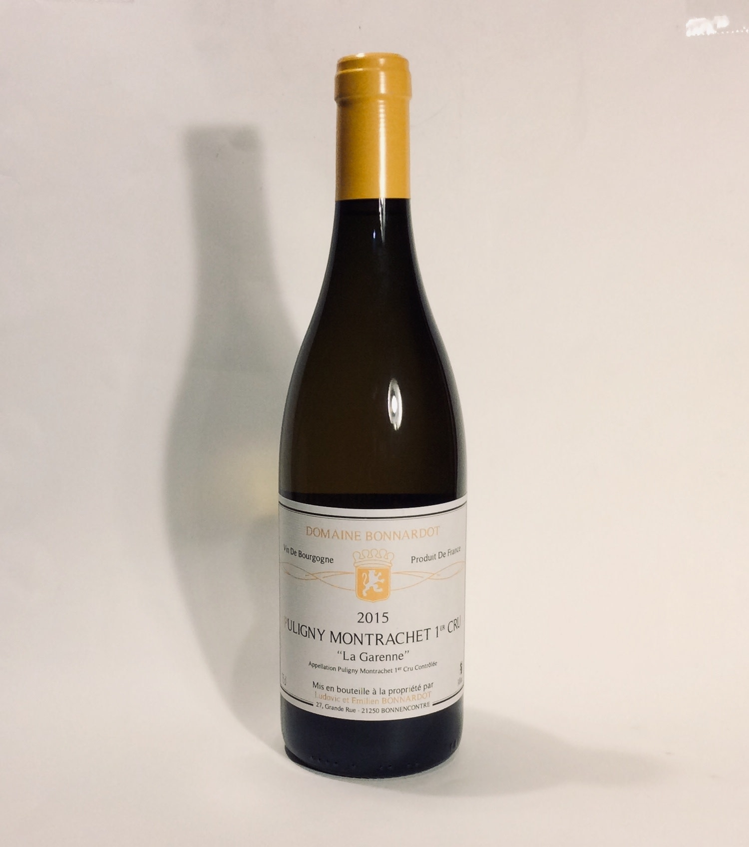 "Domaine Bonnardot - ""La Garenne"" Puligny-Montrachet 1er Cru 2015 (750ml)"