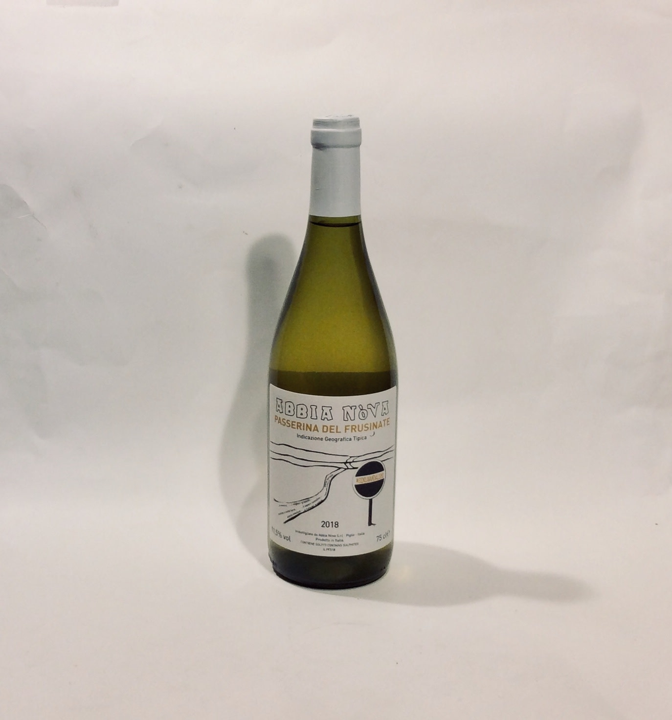 "Abbia - ""Senza Vandalismi Bianco"" 2018 (750 ml)"