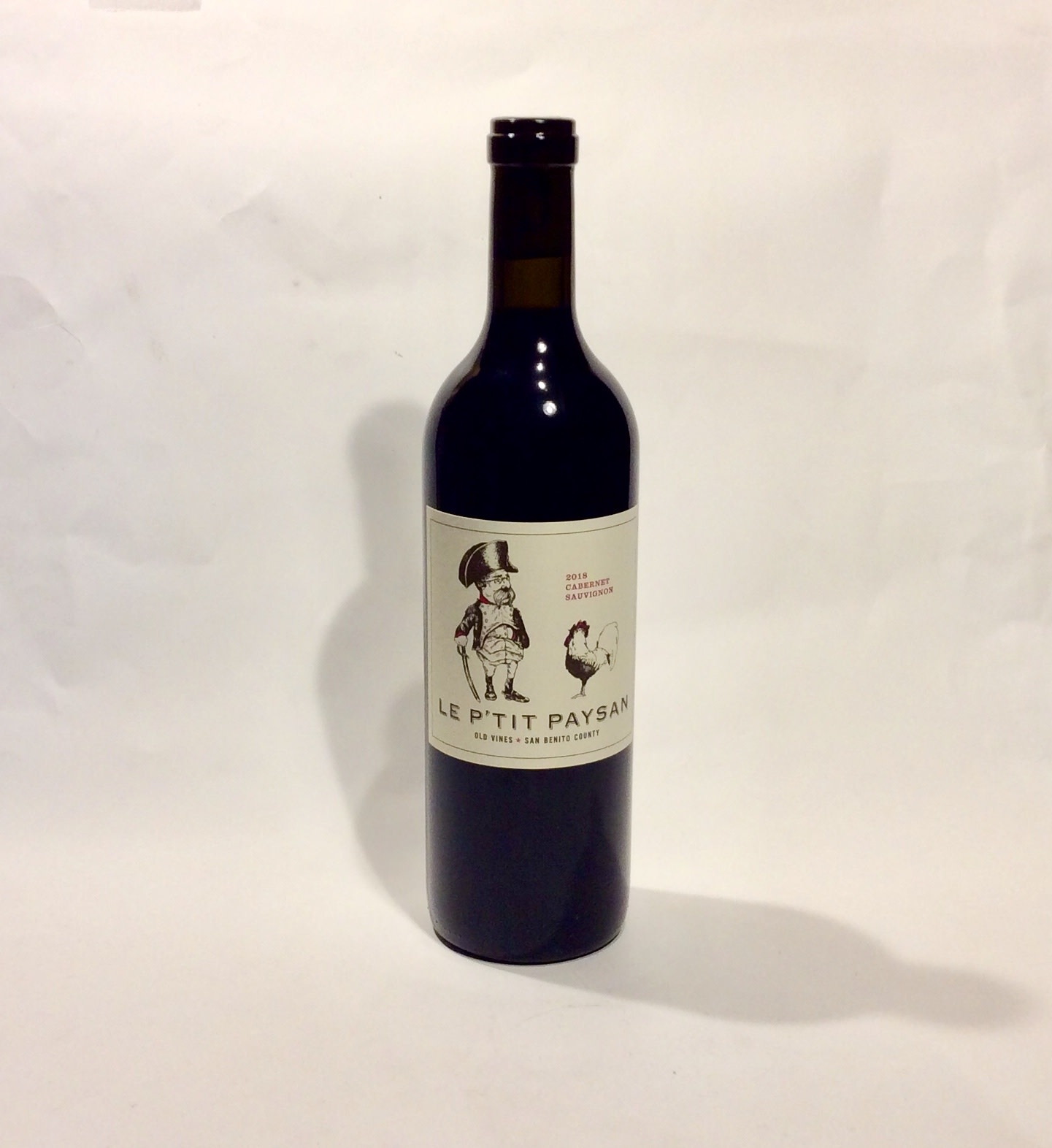 """Le P'tit Paysan """"Cabernet Sauvignon"""" 2018 (750 ml)"""