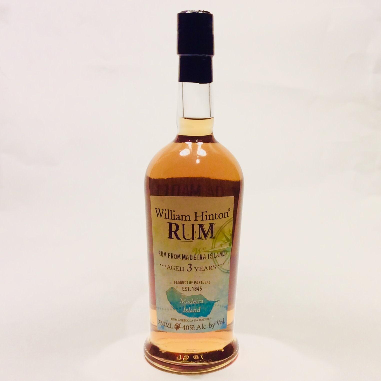 William Hinton 3 Year Old Rum - Madeira (750 ml)