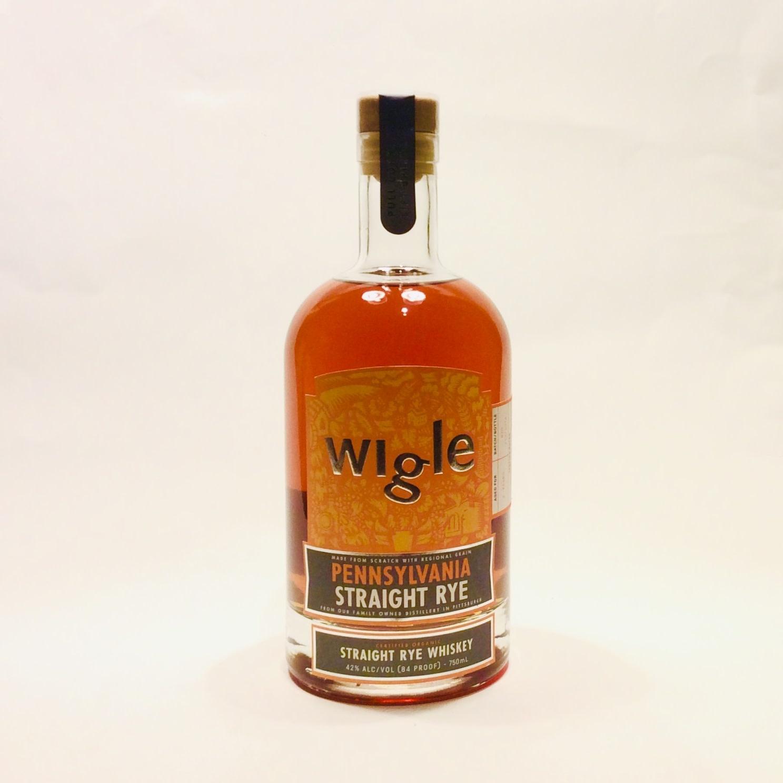 Wigle Organic Pennsylvania Straight Rye Whiskey (750 ml)
