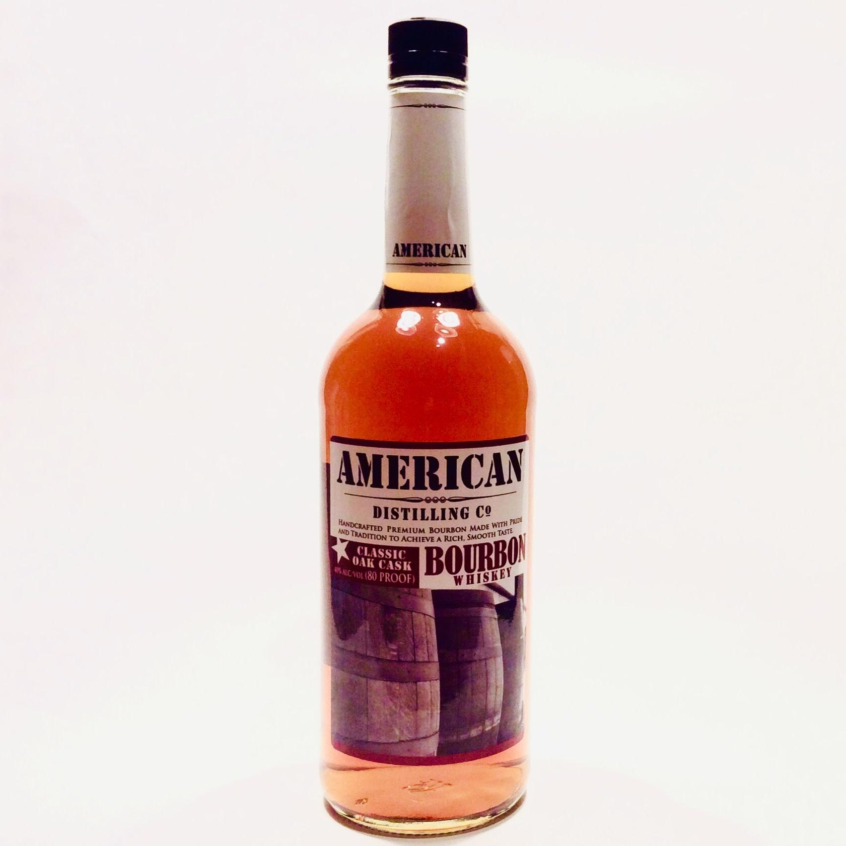 "American Distilling Co.  ""Bourbon""  (1L)"