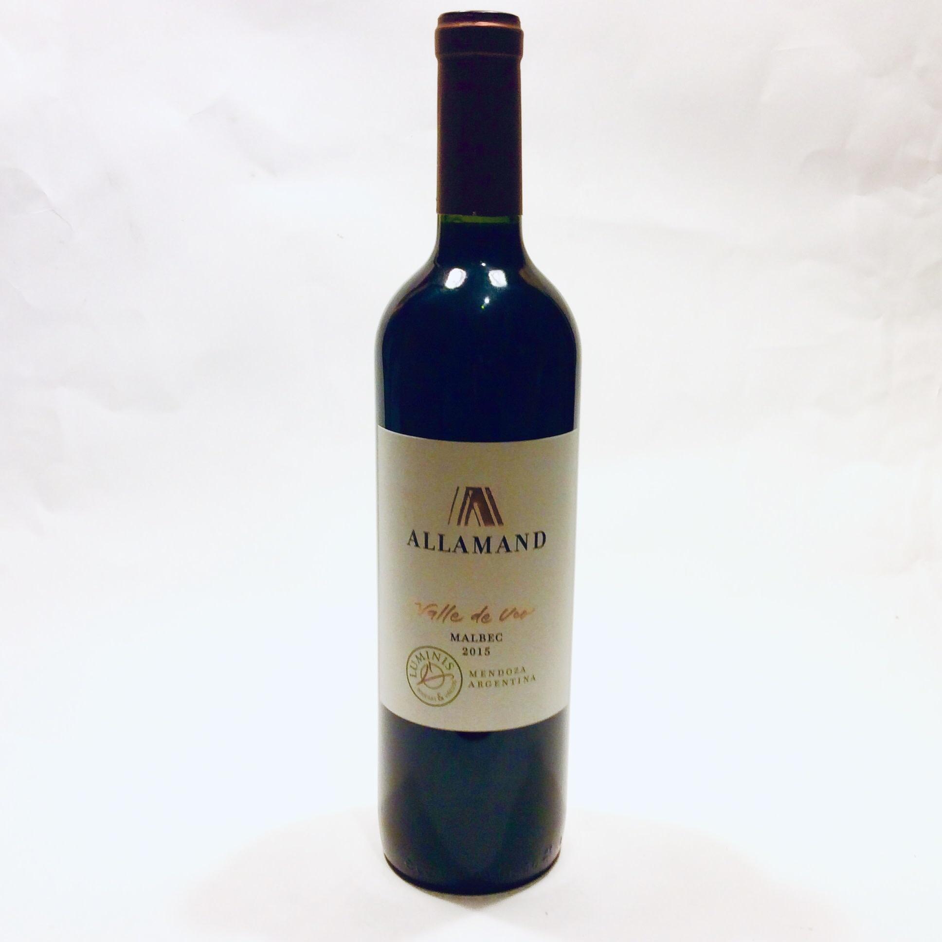 Allamand Valle de Uco Mendoza - Malbec 2015 (750 ml)