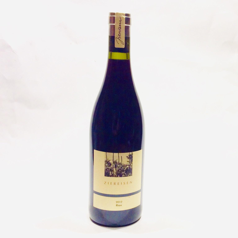 """Ziereisen - Blauer Spatburgunder """"Rhini"""" 2012 (750 ml)"""