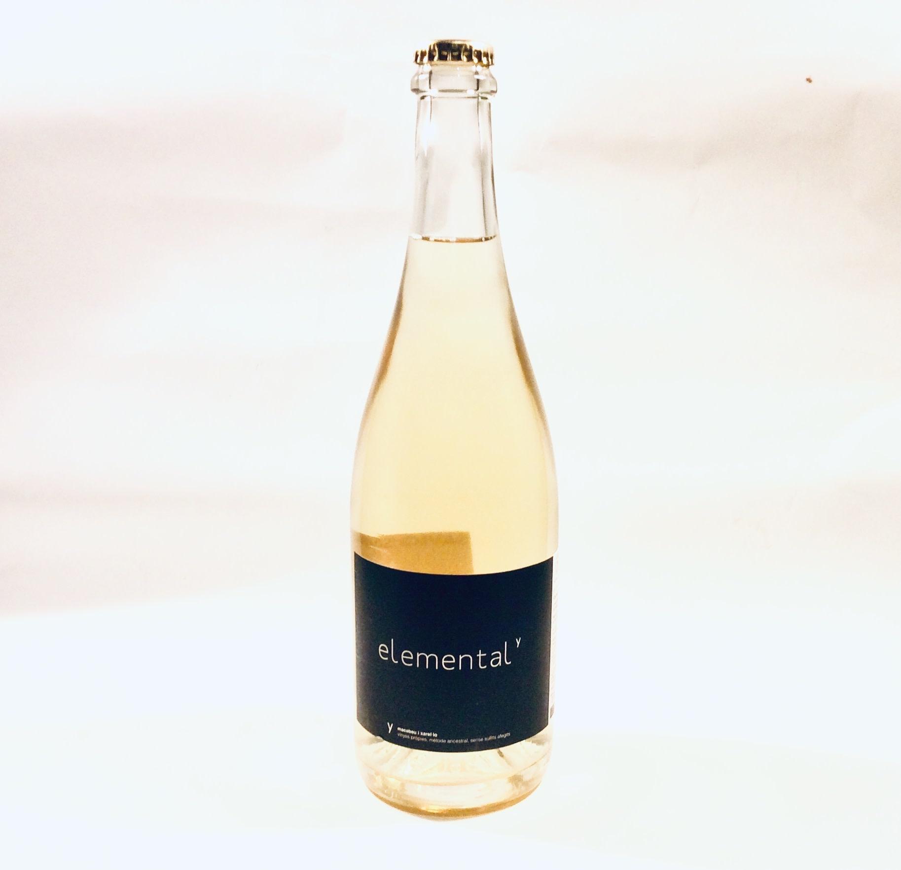 """Vinyes Singulars - Espumante Ancestral """"Elemental"""" 2018 (750 ml)"""