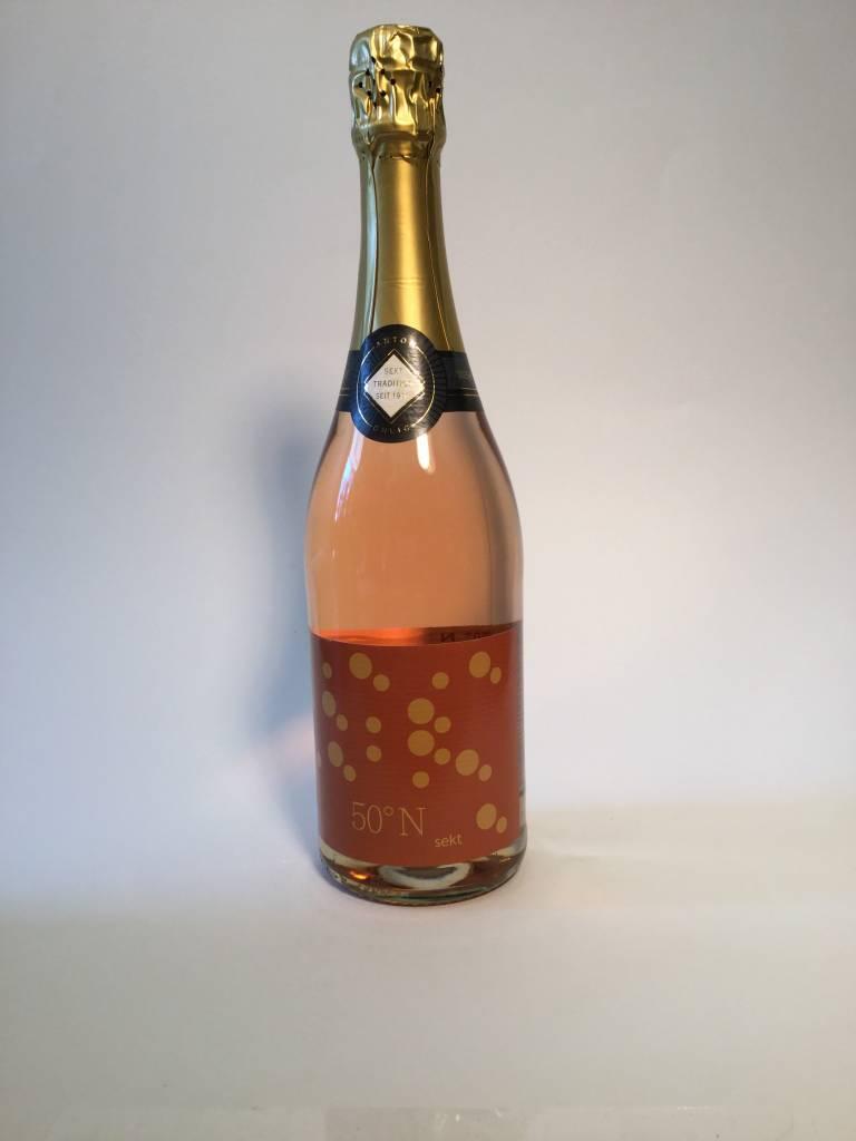 Rudesheimer Sektkellerei Ohlig - 50 N Sekt Extra Trocken Rose Sparkling NV (750ml)