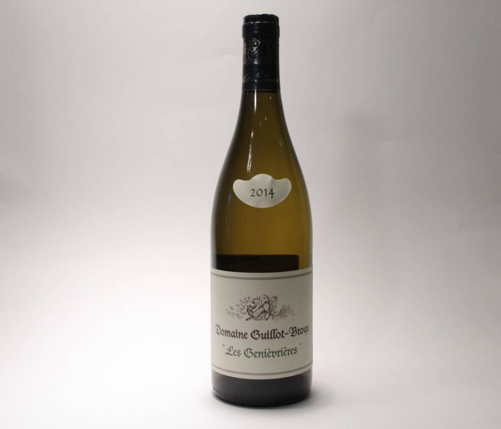 """Guillot Broux - """"Les Genievieres"""" Macon-Cruzille 2016 (750ml)"""