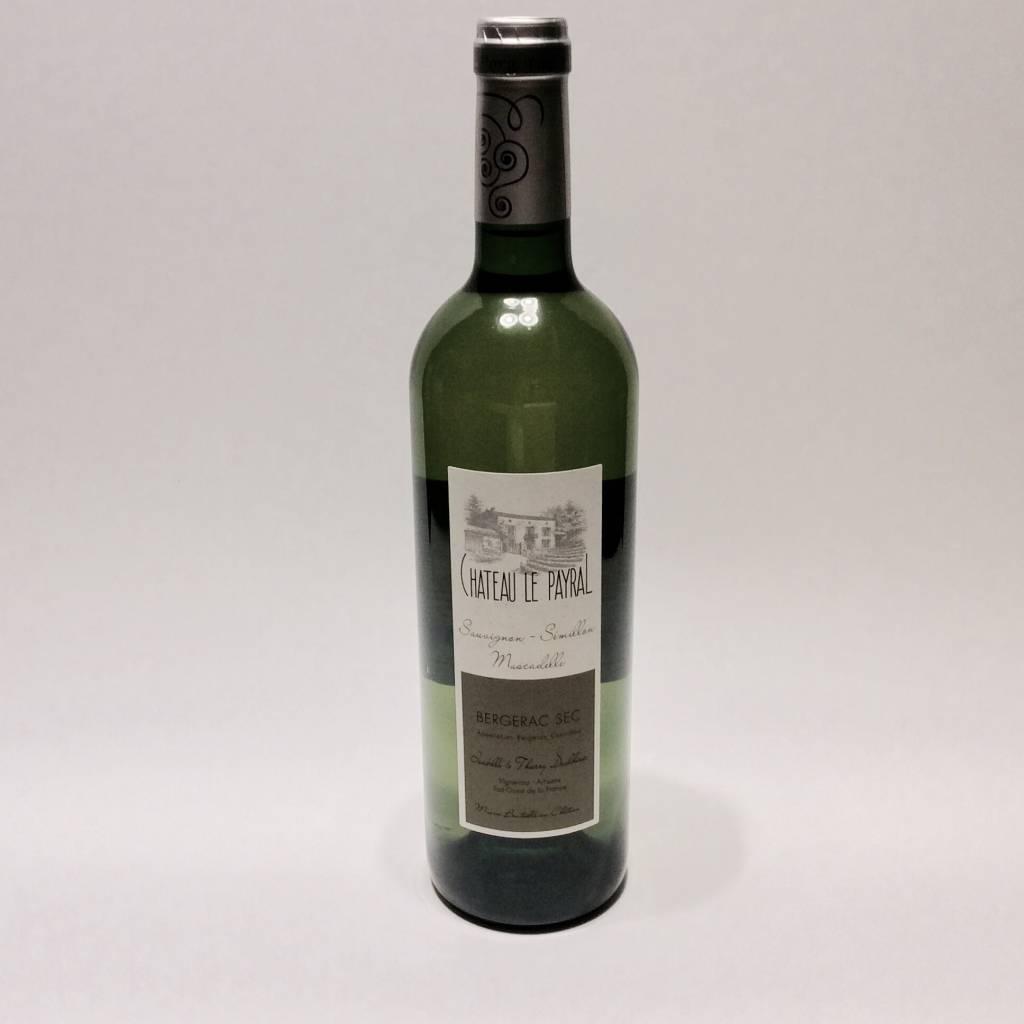 "Chateau Le Payral ""Sauvignon-Semillon-Muscadelle"" Bergerac Blanc 2018 (750 ml)"