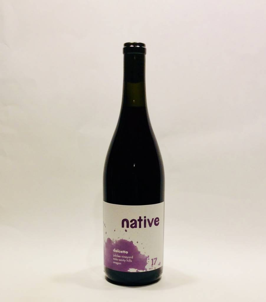 "Native Wines - Willamette Valley - Eola-Amity Hills ""Dolcetto"" 2017 (750 ml)"