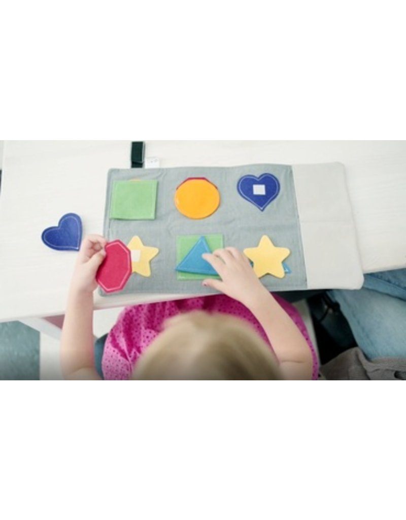 Mouse Loves Pig - Basic Shapes Learning Toy
