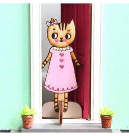 Lady Lucas Art Lady Lucas Dolls Zoe the Tabby Cat