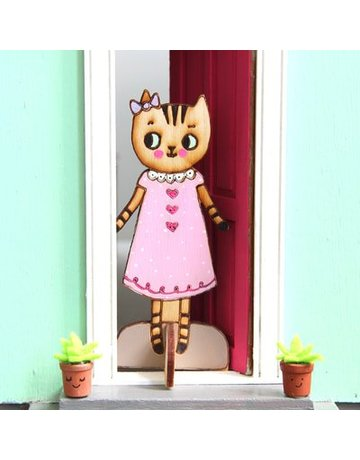 Lady Lucas Dolls Zoe the Tabby Cat