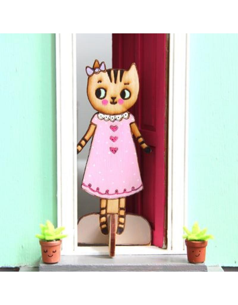 Lady Lucas Dolls Zoe the Tabby Cat