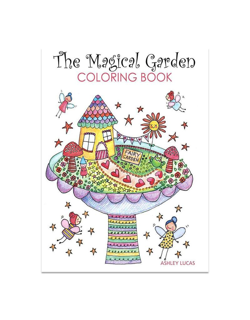 Lady Lucas Magical Coloring Book