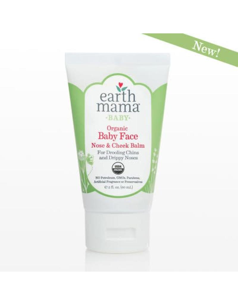 Earth Mama Organics Earth Mama Organics Baby Face Nose & Cheek Balm 2 Oz