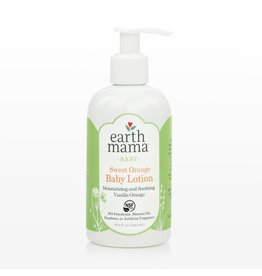 Earth Mama Organics Earth Mama Organics Sweet Orange Baby Lotion 8 OZ