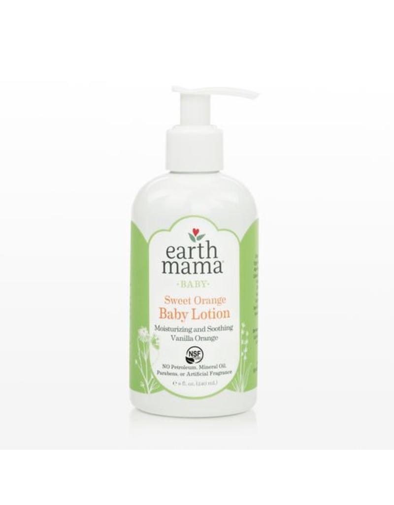 Earth Mama Organics Earth Mama Organics Sweet Orange Baby Lotion 8 OZ