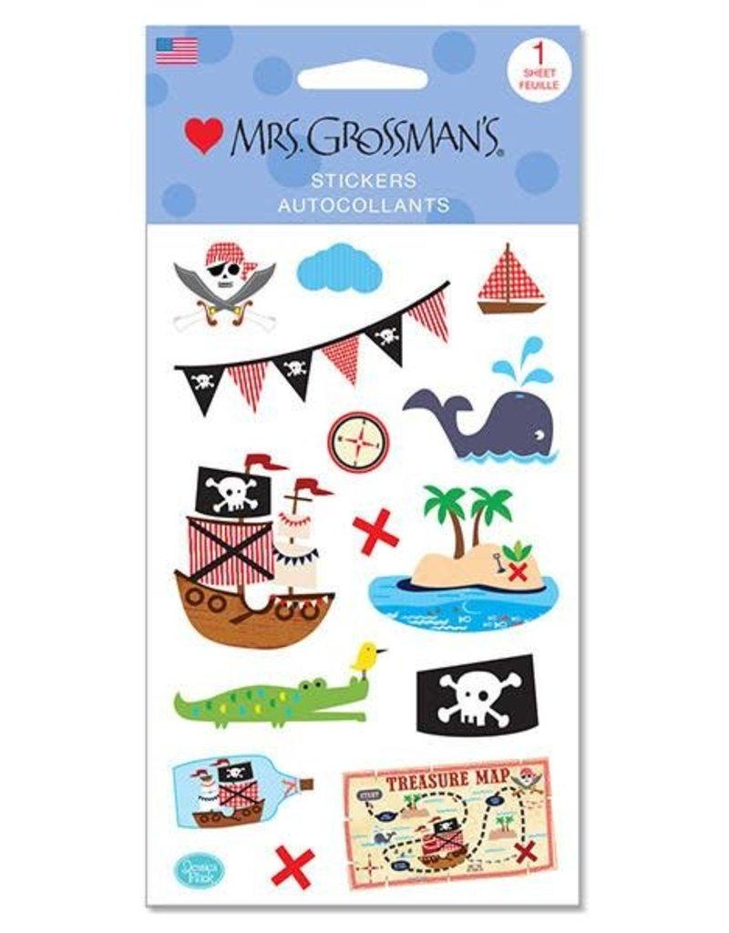 Mrs. Grossman's - Sticker Strip Collaged