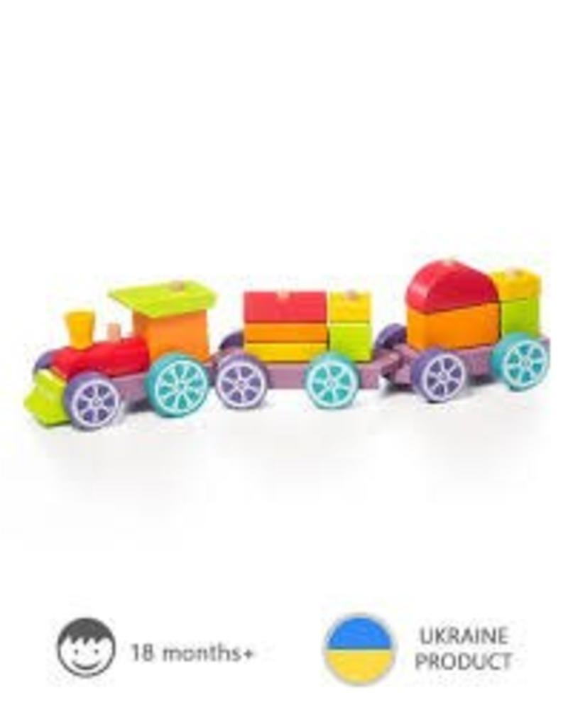 Cubika - LP-3 Train Rainbow Express