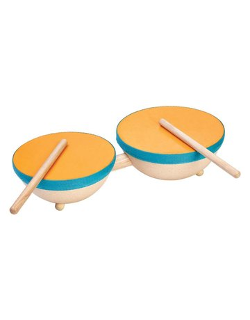 Plan Toys, Inc. Plan Toys - Double Drum