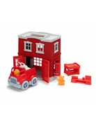 Green Toys Green Toys Fire Station Play Set