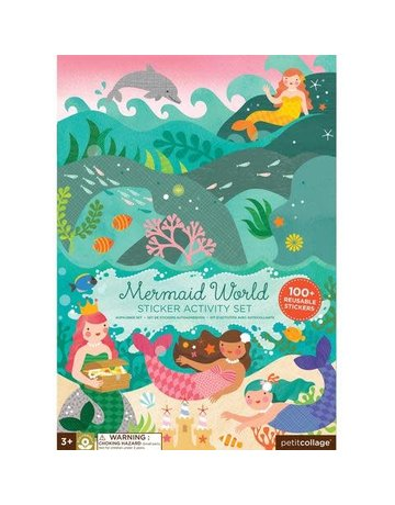 Petit Collage Petit Collage - Stickers Mermaids