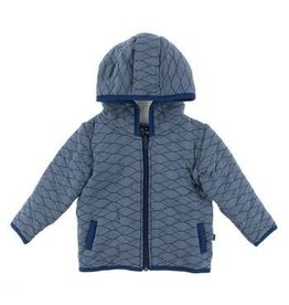 Kickee Pants Kickee Pants - Print Quilted Jacket Toddler