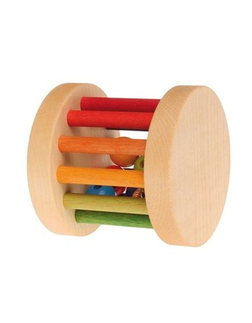 Grimm's GRIMM'S Mini Rolling Wheel, Rainbow