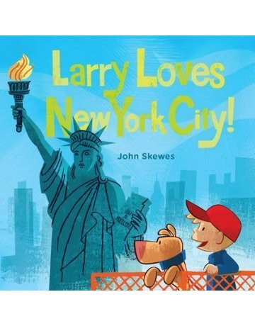 Sasquatch Books Larry Loves New York City