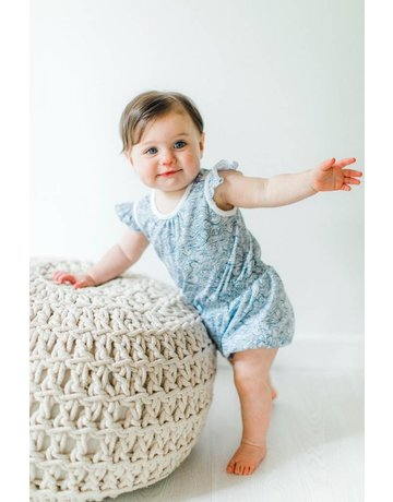 Feather Baby Feather Baby Tie Romper