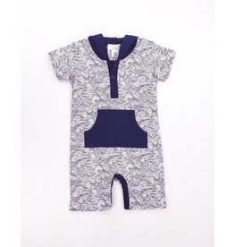 Feather Baby Feather Baby Hoody Romper