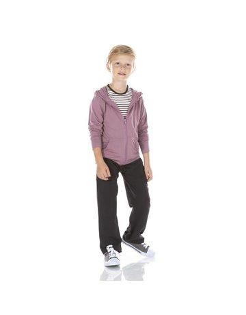 Kickee Pants Solid Lightweight Zip-Front Hoodie